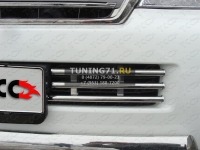 Решётка радиатора 16 мм Toyota Land Cruiser 200 2012